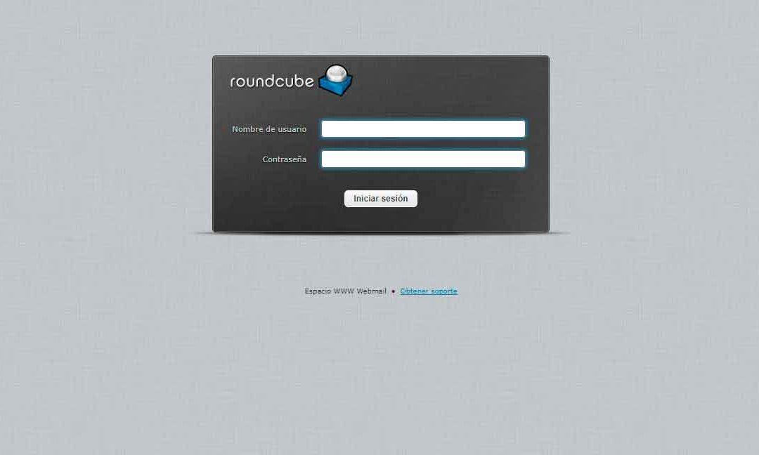 Como acceder al correo desde navegador web (Webmail)