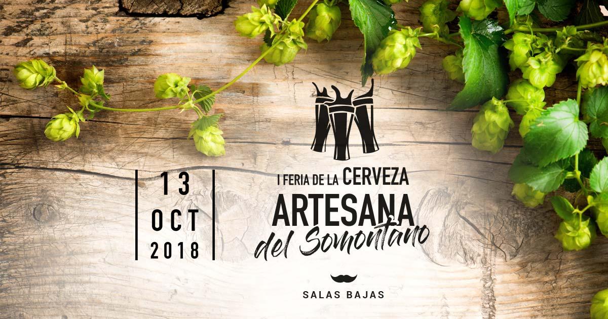 Logo Feria cerveza somontano 2