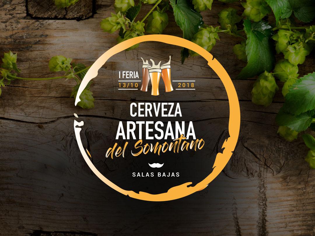 Logo Feria cerveza somontano portfolio