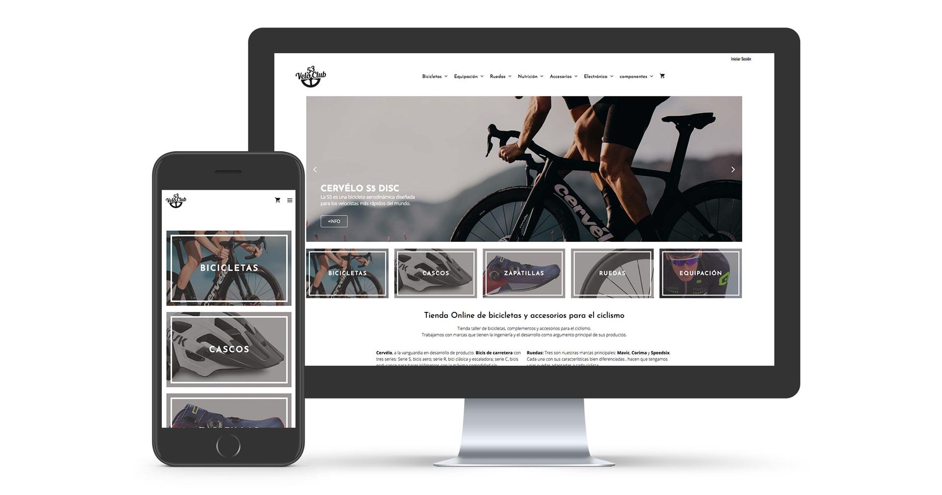 veloclub53 tienda online bicicletas huesca