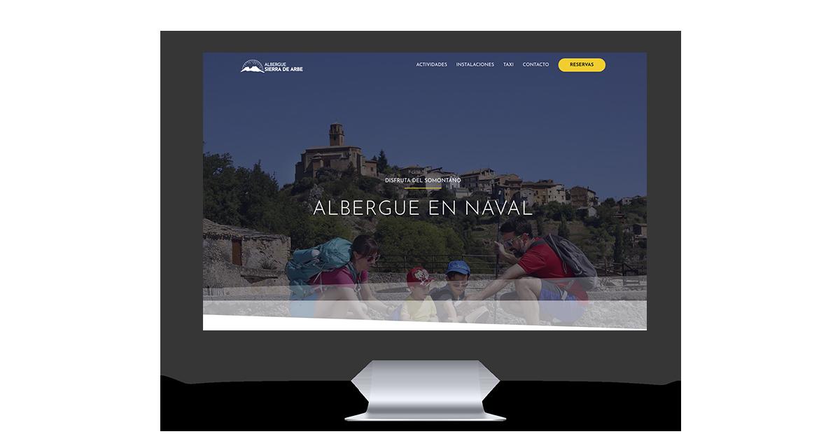 MOCKUP WEB albergue naval