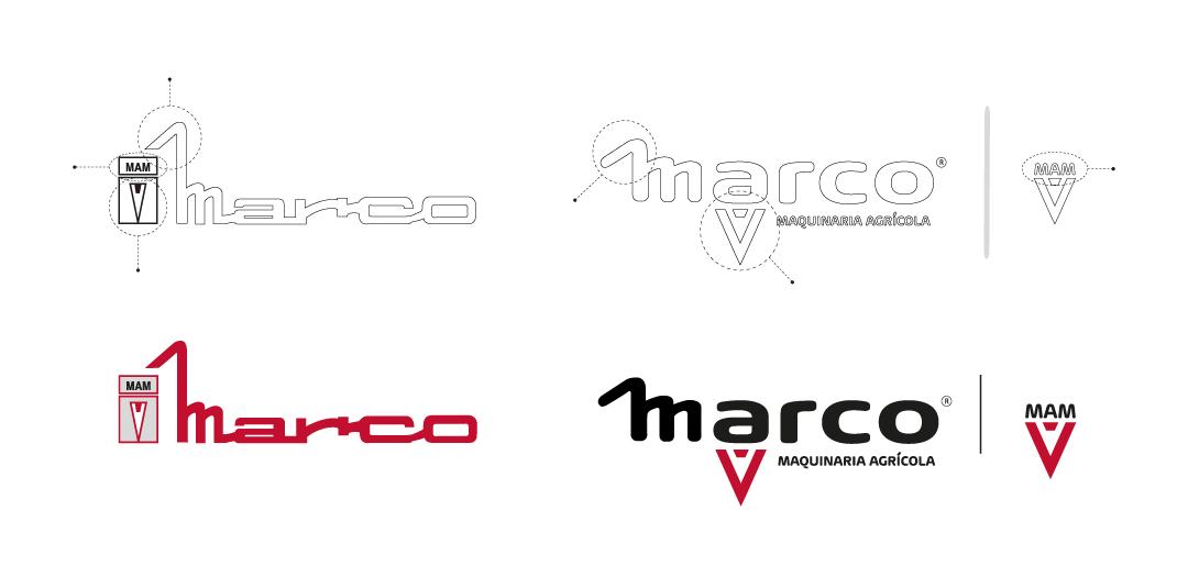 desarrollo de marca marco maquinaria