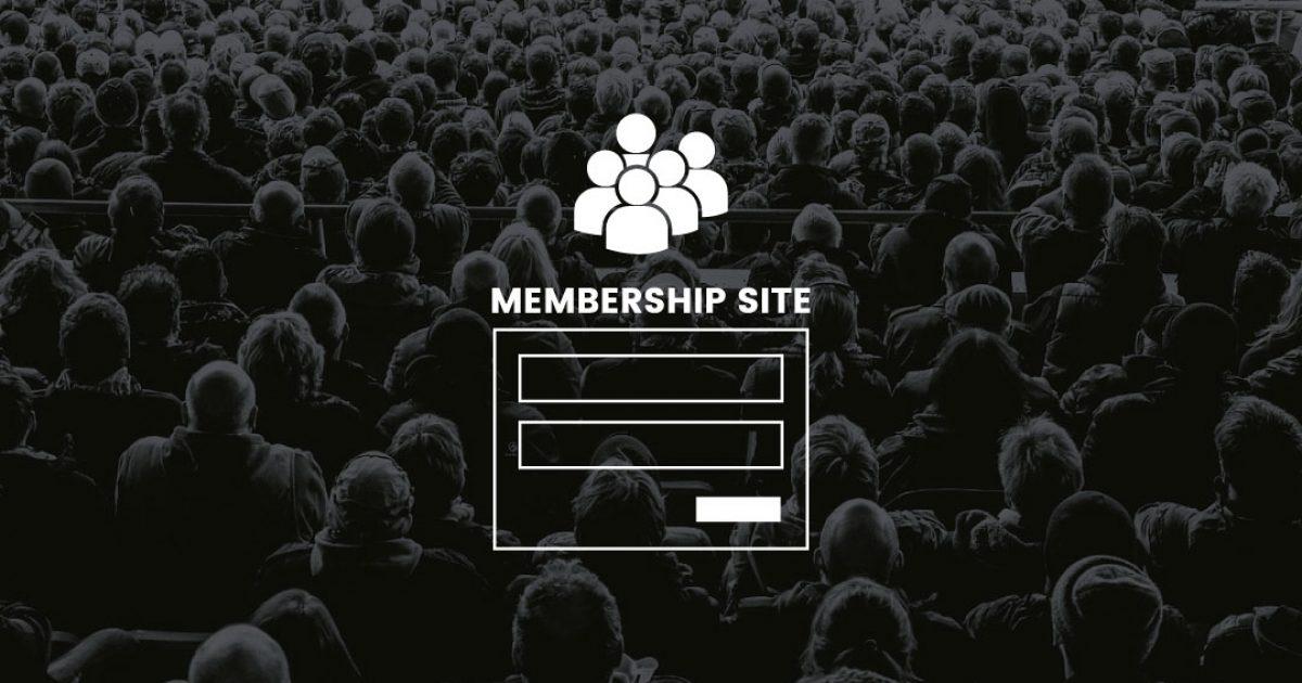 que es membership site